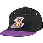 adidas NBA LA Lakers Cap schwarz/lila