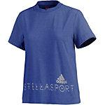 adidas T-Shirt Damen blau