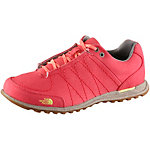 The North Face Hedgehog Mountain Canvas Sneaker Damen rot/gelb