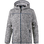 OCK Strick Fleece Membran Strickfleece Herren hellgrau