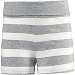 Bench Shorts Mädchen grau/weiß