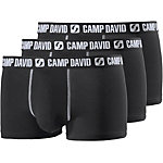 CAMP DAVID Boxer Herren schwarz