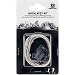 Salomon Quicklace Kit Schuhbänder grau