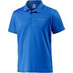 Columbia Zero Rules Poloshirt Herren blau