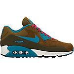 Nike WMNS AIR MAX 90 LTHR Winter Sneaker Damen dark olive/emerald