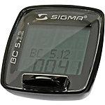 SIGMA BC 5.12 Fahrradtacho schwarz