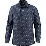 Cleptomanicx Port Shirt Langarmhemd Herren navy