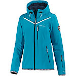 White Season Softshelljacke Damen aqua