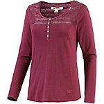 Roxy Can I be me Langarmshirt Damen bordeaux