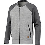 Neighborhood Sweatjacke Herren grau/anthrazit melange