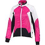 X-Bionic Spherewind Fahrradjacke Damen pink/weiß