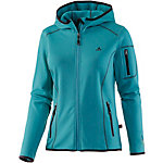OCK Stretch Fleece Fleecejacke Damen türkis