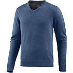 TOM TAILOR V-Pullover Herren blau