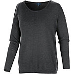 TOM TAILOR Strickpullover Damen anthrazit