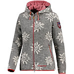Almgwand Walkersdorf Strickjacke Damen grau