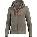 PrimEmotion Fix Hood Sweatjacke Damen grau