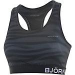 Björn Borg Perri Top Sport-BH Damen schwarz/grau