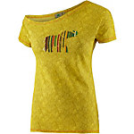 PrimEmotion Asymmetric Printshirt Damen grün