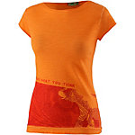 PrimEmotion Elephant Printshirt Damen orange