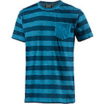 PrimEmotion Stripe T-Shirt Herren blau