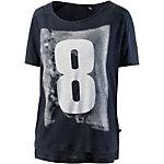S.OLIVER Printshirt Damen dunkelblau