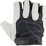 Casall Exercise Pro Fitnesshandschuhe weiß/grau