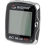 SIGMA BC 16.12 STS CAD Fahrradtacho schwarz