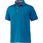 Tommy Hilfiger Basic Cotton Pique Polo Poloshirt Herren hellblau