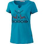 OCK V-Shirt Damen aqua