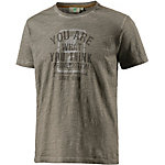 PrimEmotion You Are What You Think T-Shirt Herren braun