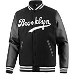 Majestic Athletic Brooklyn Dodgers Collegejacke Herren schwarz