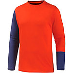 ORTOVOX Unterhemd Herren orange/navy