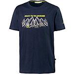 OCK T-Shirt Herren dunkelblau