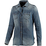 REPLAY Langarmbluse Damen denim