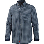 Strellson Sportswear Langarmhemd Herren blau