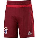 adidas FC Bayern Fußballshorts Kinder rot
