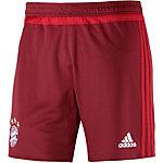 adidas FC Bayern Fußballshorts Herren rot