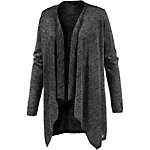 TOM TAILOR Strickjacke Damen dunkelgrau