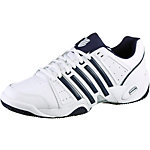 K-Swiss Accomplish II Leather Tennisschuhe Herren weiß/blau/silberfarben