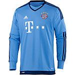 adidas FC Bayern 15/16 Heim Fußballtrikot Herren hellblau