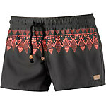 Protest Shorts Damen braun/orange