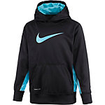 Nike KO 2.0 Funktionssweatshirt Jungen schwarz/türkis