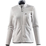 Salomon Bise Strickfleece Damen grau