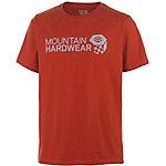 Mountain Hardwear MHW Graphic Nut Printshirt Herren rot