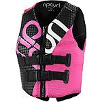 Rip Curl Dawn Patrol Vest - Pink Prallschutzweste Damen pink/schwarz