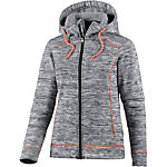 Maui Wowie Fleecejacke Damen anthrazit