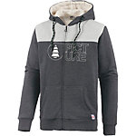 Picture Basement Plush Sweatjacke Herren anthrazit