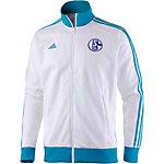 adidas Schalke 04 Trainingsjacke Herren weiß