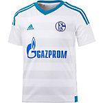 adidas Schalke 04 15/16 Auswärts Fußballtrikot Kinder weiß