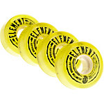 Element Rollen Filmer Yellow 54mm 85A Skateboardrollen gelb